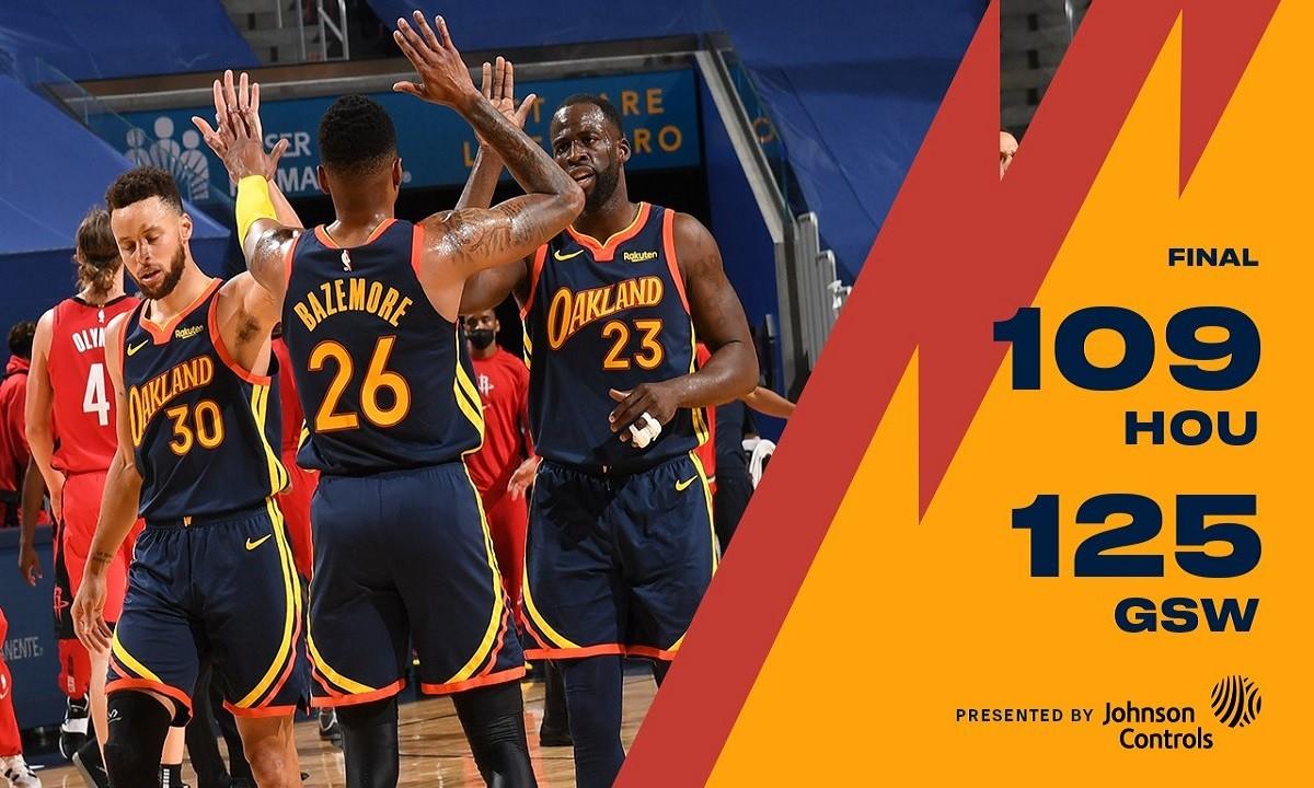 NBA Αποτελέσματα: Άνετα οι Γούριορς με… καυτό Κάρι (vids)