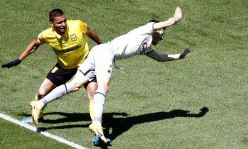 ΑΡΗΣτος: Όλα στραβά κι ανάποδα πήγαν στο ματς με την ΑΕΚ για τον ΑΡΗ! Ο τραυματισμός του Μπρούνο Γκάμα πριν το παιχνίδι που τον άφησε