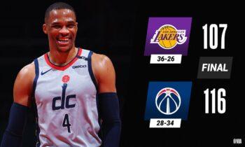 NBA Αποτελέσματα: Ήττα για τους Λέικερς, «διέλυσαν» τους Χοκς οι Σίξερς (vids)