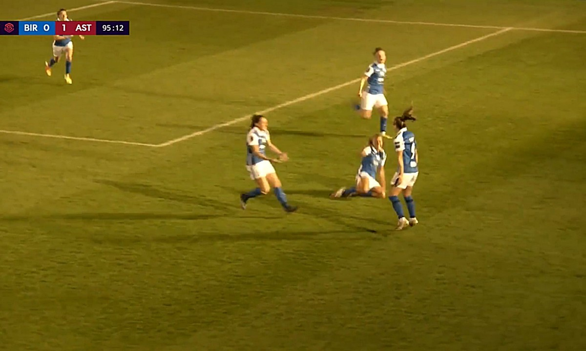 Εκπληκτικό: Η Βεατρίκη Σαρρή με γκολ στο 96′ κρατάει την Μπέρμιγχαμ στην Premier League γυναικών! (vid)