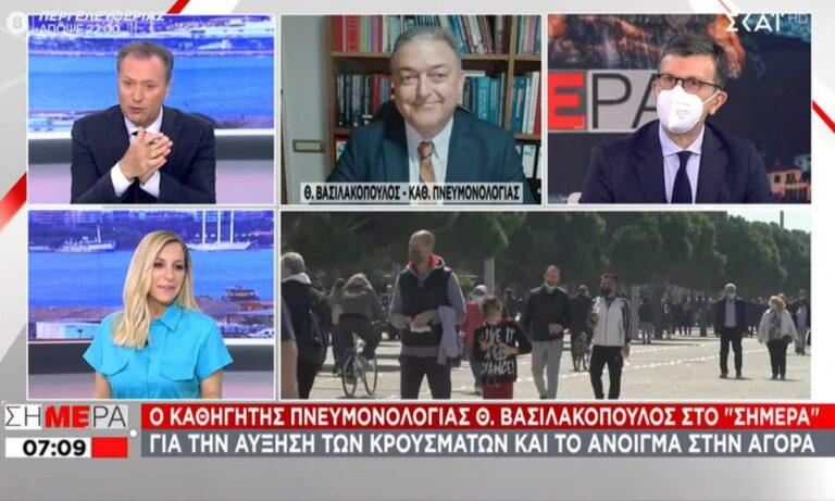 Βασιλακόπουλος: Απαιτεί να μπαίνουν σε αναστολή όσοι υγειονομικοί δεν θέλουν να εμβολιαστούν!