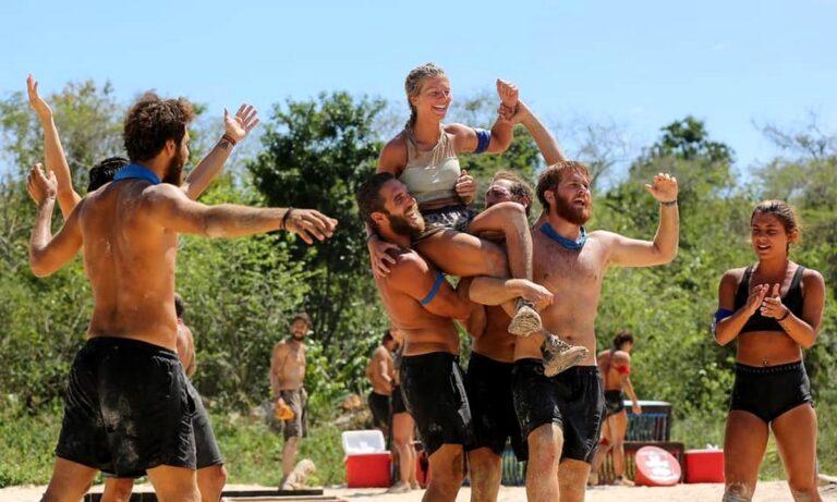 Survivor highlights 14/4: Θρίαμβος των Μπλε, άσχημος τραυματισμός και Τριαντάφυλλος στον τάκο για 7η φορά!