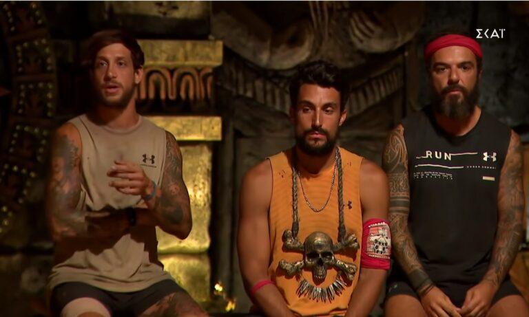 Survivor spoiler αποχώρηση 20/4: Αυτοί είναι οι τρεις υποψήφιοι! Ποιος φεύγει;
