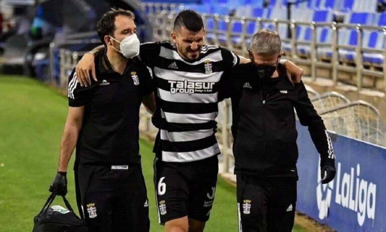 Άτυχος στάθηκε ο Τόνι Ντάτκοβιτς, καθώς μετά από μια σειρά πολύ καλών εμφανίσεων με την Καρταχένα, τραυματίστηκε στο ματς με τη Σαραγόσα.