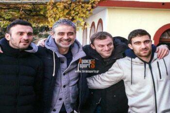Άγιον Όρος: Όταν οι ποδοσφαιριστές επισκέπτονται το «Περιβόλι» της Παναγίας (pics)