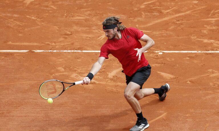 Monte Carlo Masters: Ο Τσιτσιπάς κόντρα στον Γκαρίν