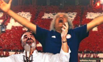 Ο Τάκης Τσουκαλάς ξετρελαίνεται με τον ψεύτο Καζαντζίδη στην εκπομπή Άντε Γεια, με τους δυο τους να δίνουν ρεσιτάλ στον αέρα.