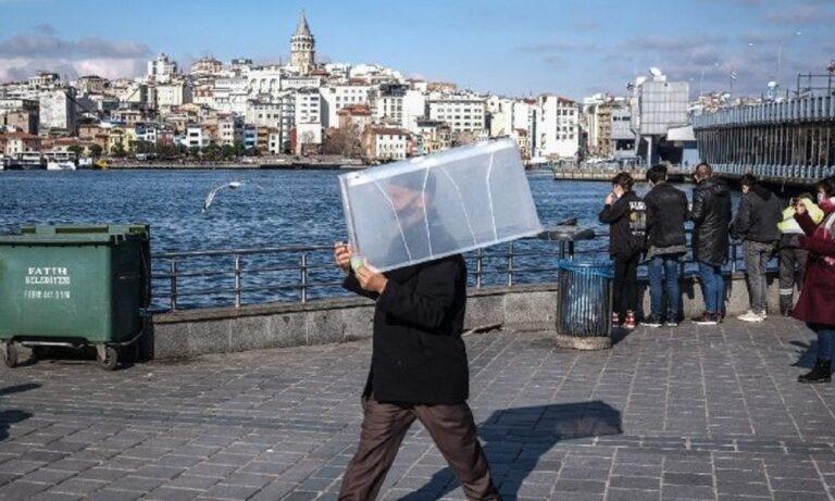 Κορονοϊός-Τουρκία: Μετά τα 54.740 νέα κρούσματα, ιδού η… μάσκα κατά του covid-19!