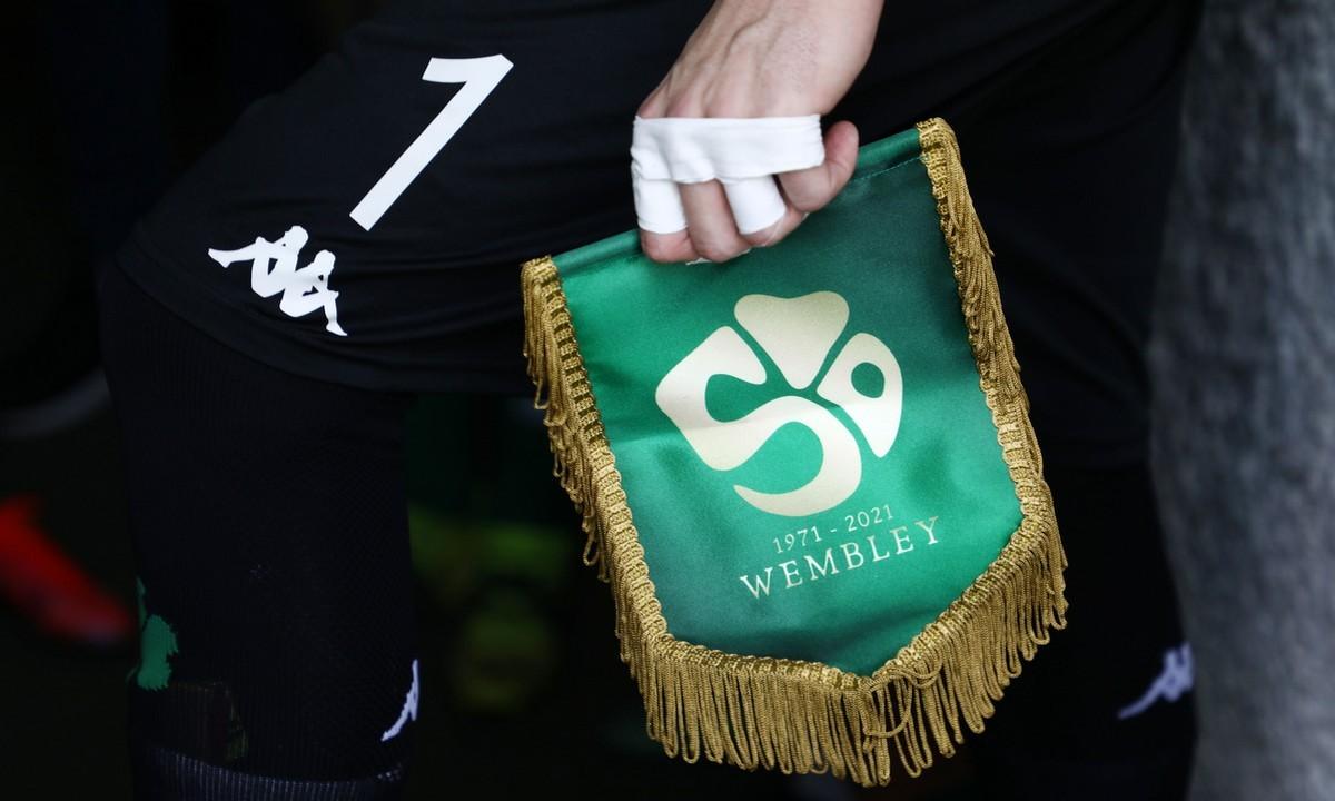 Παναθηναϊκός: Έφερε γούρι το επετειακό λάβαρο για το «Έτος Wembley»