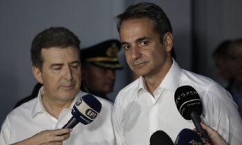 Δολοφονία Καραϊβάζ: Ο Κυριάκος Μητσοτάκης κάλεσε τον Υπουργό Προστασίας του Πολίτη Μιχάλη Χρυσοχοΐδη σε έκτακτη συνάντηση στο Μέγαρο Μαξίμου με θέμα συζήτησης το στυγερό έγκλημα, που συγκλονίζει από χθες την Ελλάδα.