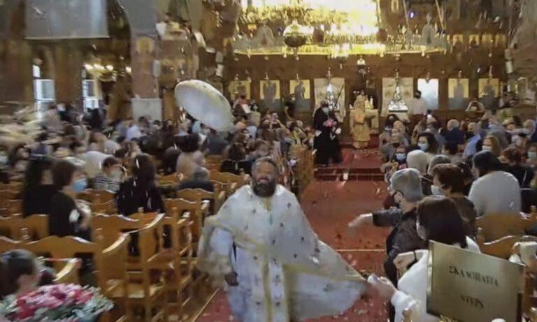 Η θεαματική πρώτη Ανάσταση από την Μητρόπολη Κωνσταντίας – Αμμοχώστου