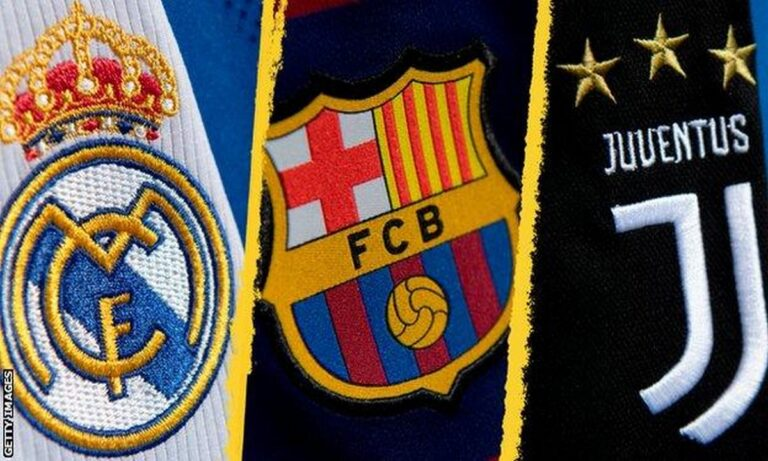 UEFA – Επίσημο: Πειθαρχική έρευνα για την ESL σε Ρεάλ, Μπαρτσελόνα και Γιουβέντους