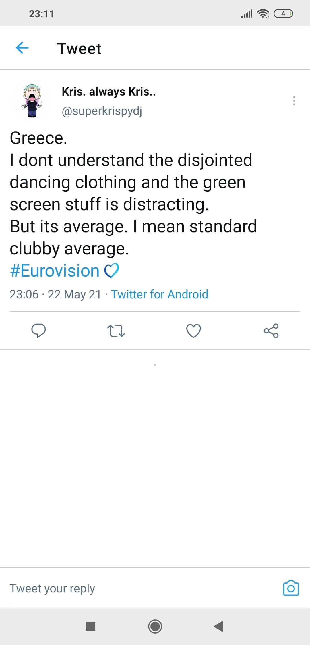 Eurovision Ελλάδα: Λάθος Όλα στην εμφάνιση της Στεφανίας - Φάνηκε και αυτός που κράταγε την εκπρόσωπο της Ελλάδας στο γκριν μποξ