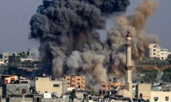 Έκρυθμη παραμένει η κατάσταση στη Λωρίδα της Γάζας, καθώς την Κυριακή (16/5) τουλάχιστον 40 Παλαιστίνιοι σκοτώθηκαν από βομβαρδισμούς του Ισραήλ.