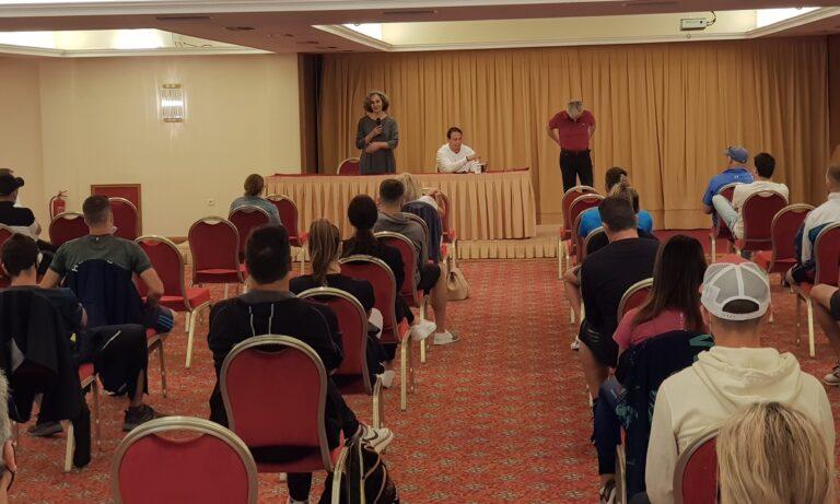 Χανιά: Συνάντηση αθλητών, προπονητών με την πρόεδρο του ΣΕΓΑΣ