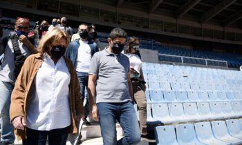 Λευτέρης Αυγενάκης: «Την επόμενη εβδομάδα η συζήτηση για τη φιλοξενία του ΠΑΟΚ στο Καυτανζόγλειο »