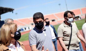 Αυγενάκης: «Με βάση τους εμβολιασμούς, του χρόνου αναμένεται να υπάρξει κόσμος στο γήπεδο»