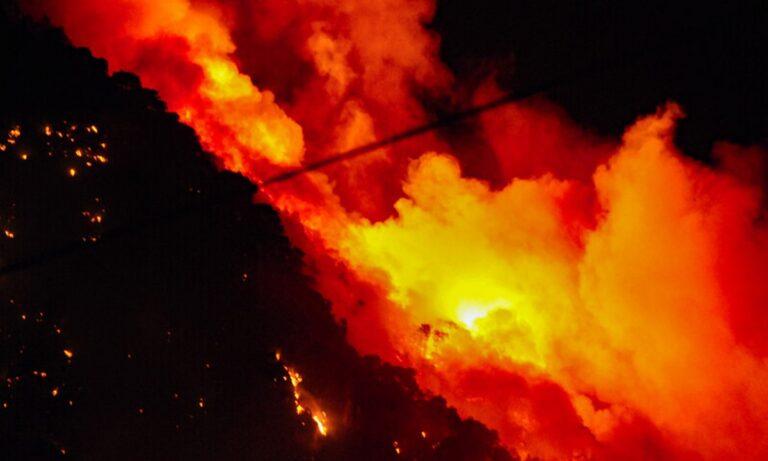 Φωτιά στον Σχίνο Κορινθίας: Στάχτες ακόμα και στο κέντρο της Αθήνας! (pics)