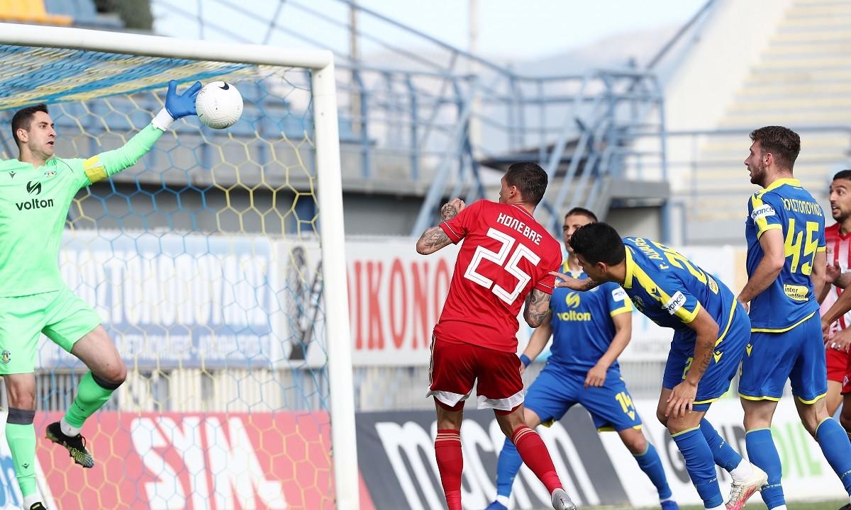 Αστέρας Τρίπολης-Ολυμπιακός 0-0: Έμειναν με τη διάθεση (vids)