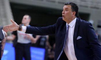 Ο προπονητής της ΑΕΚ, Βαγγέλης Αγγέλου μίλησε για την ομάδα του, για την πρόκριση, για τη συνέχεια, για τις συνεχείς διακοπές αλλά και το… πάτημα του ΠΑΟΚ.