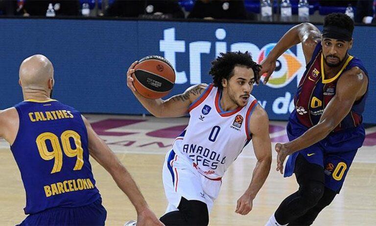 Η Μπαρτσελόνα θα αντιμετωπίσει την Αναντολού Εφές στον τελικό της Euroleague, με τις ομάδες να θέλουν το τρόπαιο.
