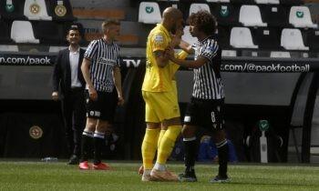 ΠΑΟΚ - Άρης 2-0: Η ομάδα του Πάμπλο Γκαρσία ήταν η νικήτρια στο ντέρμπι της Τούμπας για την 8η αγωνιστική των πλέι οφ της Super League.