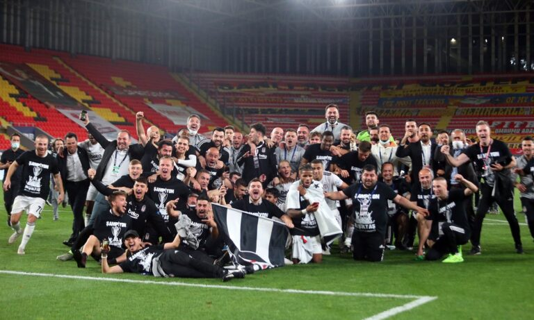 Μπεσίκτας: Πρωταθλήτρια Τουρκίας για ένα γκολ!