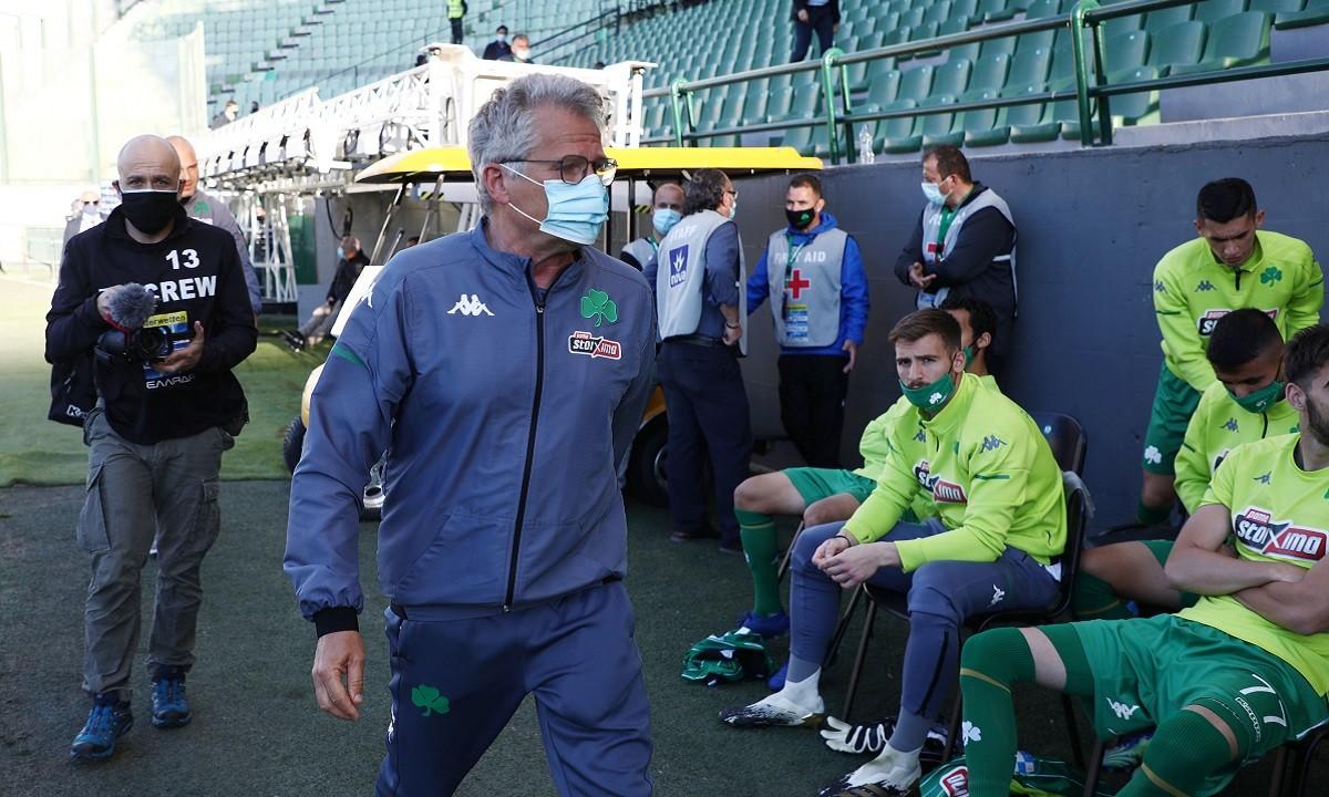 Μπόλονι: «Από αύριο δεν θα είμαι προπονητής του Παναθηναϊκού»