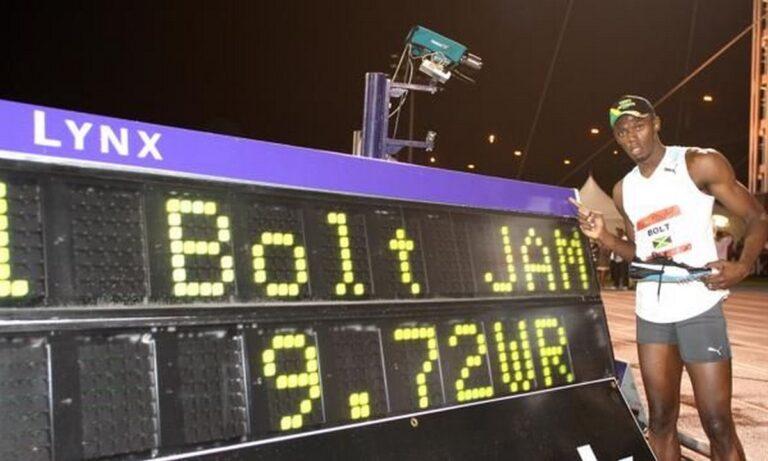 Σαν Σήμερα πριν 13 χρόνια, ο Γιουσειν Μπολτ πέτυχε παγκόσμιο ρεκόρ στην Νέα Υόρκη.