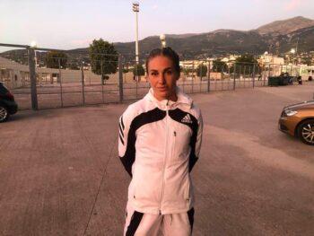 Η Κατερίνα Δαλάκα κάνει τη μεγάλη προσπάθεια να επιστρέψει σε υψηλά επίπεδα στο αγαπημένο άθλημά της τον στίβο και επικεντρώνεται στα σπριντ.