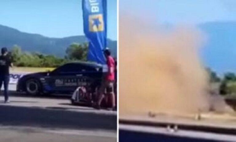 Dragster: Τραγωδία με νεκρό οδηγό στο Αγρίνιο (vids)