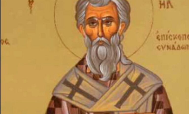 Εορτολόγιο Κυριακή 22 Μαΐου: Σήμερα η Εκκλησία τιμά μεταξύ άλλων τη μνήμη του Όσιου Μιχαήλ.