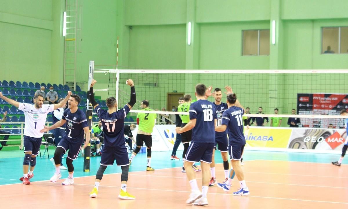 Εθνική ανδρών – Βόλεϊ: Νίκησε με 3-0 το Αζερμπαϊτζάν και διατήρησε το αήττητο