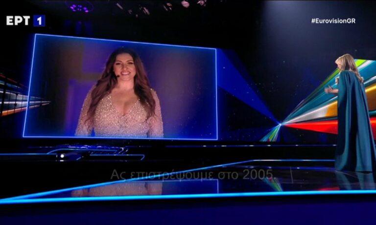 Eurovision: Η Έλενα Παπαρίζου… τρύπωσε στον ημιτελικό!