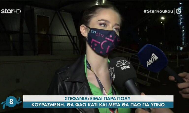 Eurovision: Οι πρώτες δηλώσεις της Στεφανίας αμέσως μετά την πρόκριση στον τελικό! (vid)