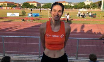 Η Μιχαέλα Χρούμπα ήταν νικήτρια στο ύψος γυναικών με άλμα στα 1,91μ., ενώ η Τατιάνα Γκούσιν ήταν καλύτερη από τις Ελληνίδες με 1,87μ.