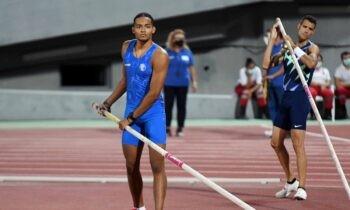 Ο Εμμανουήλ Καραλής ήταν ο νικητής στο επί κοντώ με 5,70μ. στο Διεθνές Μίτινγκ Αλμάτων στην Καλλιθέα, ο οποίος βελτίωσε το φετινό του ρεκόρ