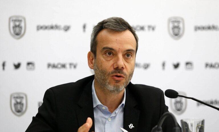 Ζέρβας: «Αν πάρει ο ΠΑΟΚ το Κύπελλο, η πόλη θα γιορτάσει όσο μπορεί αλλά μη ξεχνάμε τον κορονοϊό»