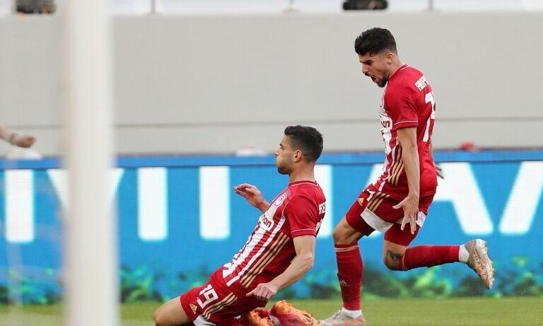 Ολυμπιακός-ΠΑΟΚ 1-0: Επιβλητικός στην φιέστα για το 46ο πρωτάθλημα (vids)