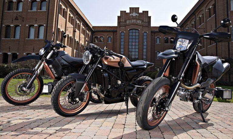 Η REPLAY και η Husqvarna Motorcycles ενισχύουν τη συνεργασία τους με αποκλειστικές επετειακές εκδόσεις των Husqvarna VITPILEN