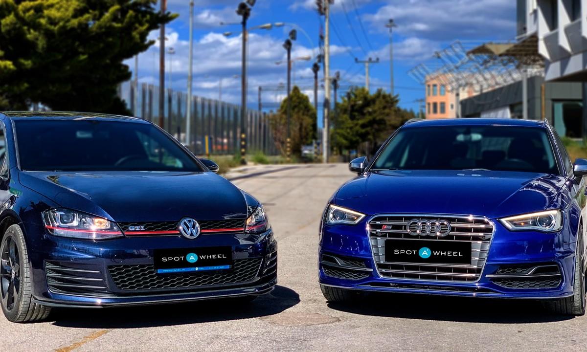 Audi S3 vs Golf GTI: 2 δημοφιλή μικρομεσαία στις πιο εκρηκτικές τους εκδόσεις!