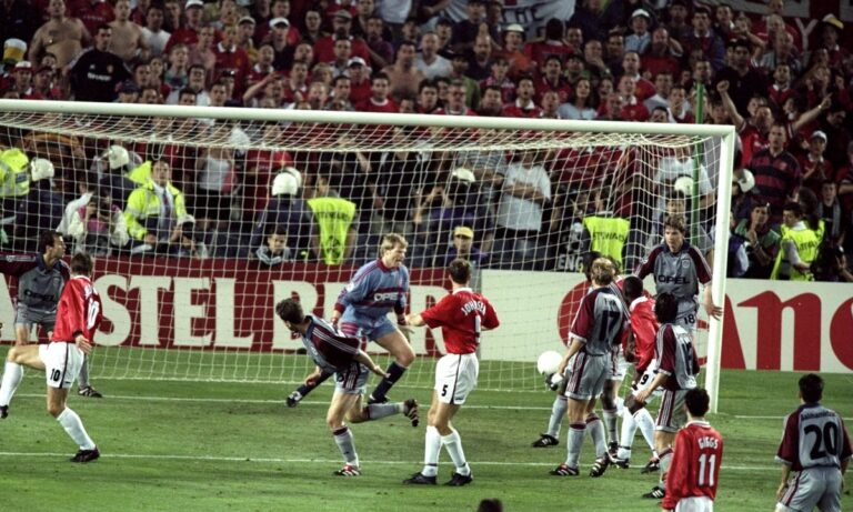 Σαν Σήμερα πριν 22 χρόνια η Μάντσεστερ Γιουνάιτεντ με επική ανατροπή κέρδισε την Μπάγερν Μονάχου και κατέκτησε το Champions League.
