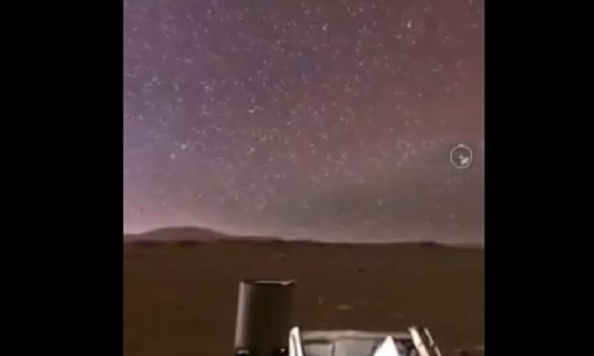 Πλανήτης Άρης – Φοβερό: Έτσι είναι η εικόνα του τη… νύχτα (vid)