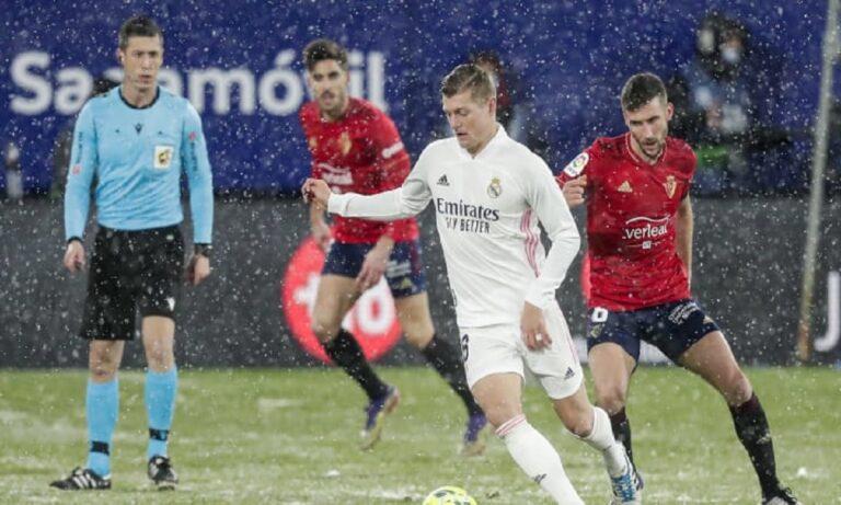 Ρεάλ Μαδρίτης – Οσασούνα 2-0 (ΤΕΛΙΚΟ)