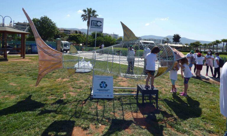 Η φαρμακευτική εταιρεία Medochemie Hellas κατασκεύασε το «Ανακυκλόψαρο», ένα καινοτόμο έργο Ανακύκλωσης, στο πλαίσιο ενεργειών