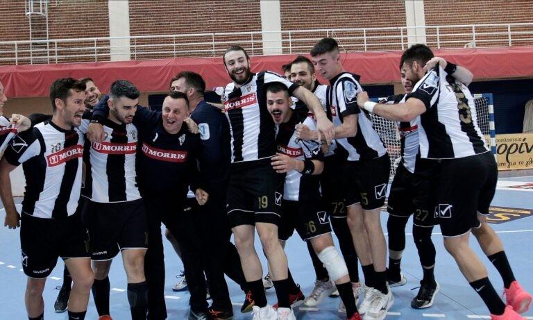 Κύπελλο Ανδρών Χάντμπολ: Ο ΠΑΟΚ νίκησε τον Φίλιππο και αντιμετωπίζει την ΑΕΚ στον μεγάλο τελικό