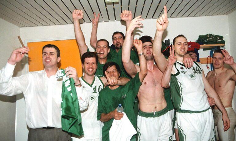 Ο Παναθηναϊκός κέρδισε με 68-58 τον ΠΑΟΚ, έτσι με 3-2 νίκες στην σειρά των τελικών πήρε το πρωτάθλημα.
