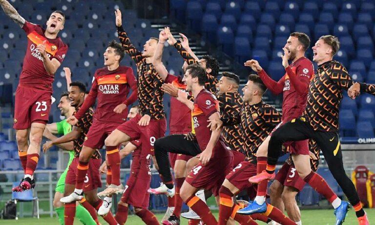 Ρόμα – Λάτσιο 2-0: Πήρε το ντέρμπι, βλέπει Ευρώπη και «έκοψε» τα όνειρα στη Λάτσιο