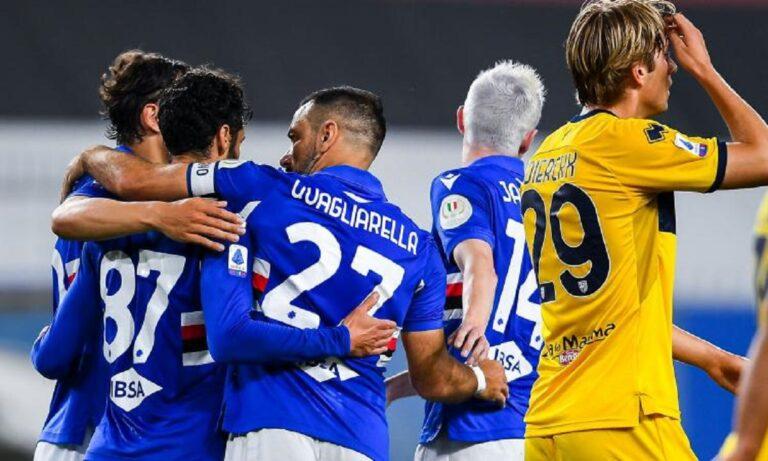 Serie A: Αντίο με νίκες για Τζένοα και Σαμπντόρια