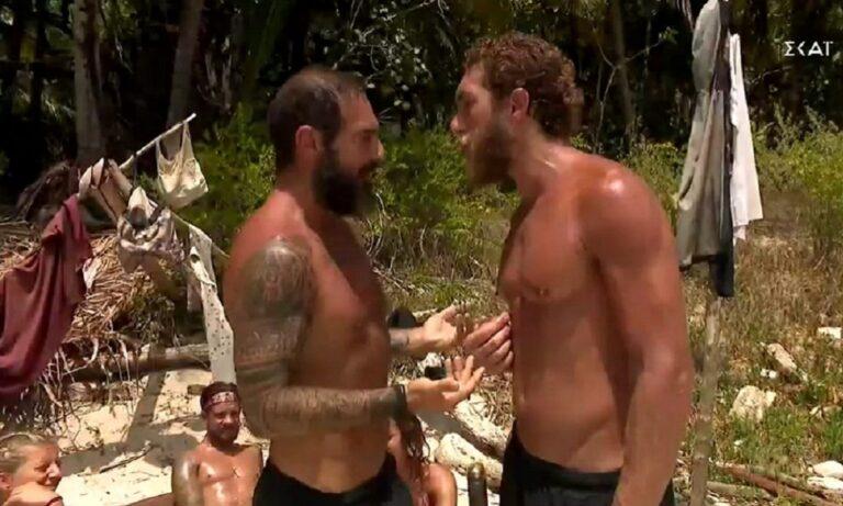 Survivor: Πάλι έγιναν μπίλιες ο Κόρο και ο Τριαντάφυλλος (vid)